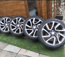 """LAND ROVER DISCOVERY 5 22"""" GREY & DIAMOND CUT ALLOY WHEELS  STYLE 5025 ✅✅✅"""