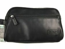 Penguin By Munsingwear Travel Kit Black Toiletries Dopp Bag Personal Care Tote