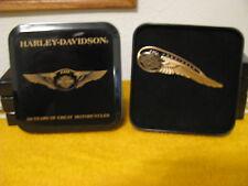 "Genuine Harley Davidson 110th An. ""RARE"" TANK BADGE EMBLEM PIN In COLLECTOR TIN"