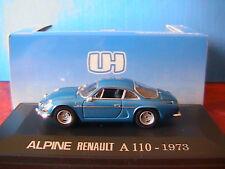 RENAULT ALPINE A110 1600S 1973 UNIVERSAL HOBBIES 1/43