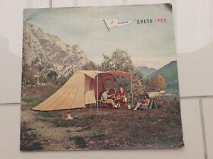 C4539/ Klepper Zelte 1958 Heft 30 Seiten Camping viele Abbildungen Katalog