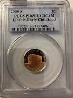 2009-S EARLY CHILDHOOD LINCOLN CENT PCGS PR69 RD DCAM #298