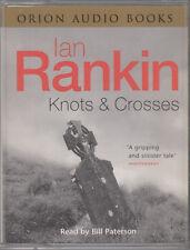 Knots & Crosses Ian Rankin 2 Cassette Audio Book Abridged Crime Thriller
