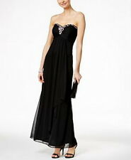 Xscape Embellished Sweetheart Strapless Gown Size 4 #E239 MSRP $129 runs smaller