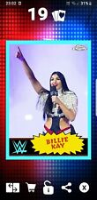 Topps WWE Slam Digital Card Super Rare Billie Kay Throwback 2020 Chrome