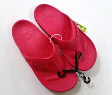 Damen Crocs Baya Flip Zehentrenner Sommer Sandale Badelatsche  Schuhe 42/43 Rosa