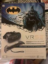 VRSE BATMAN VR Headset, Remote & Game  NEW
