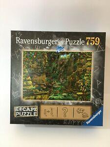 Ravensburger The Temple Escape Room 759 Piece Jigsaw Puzzle, VGC