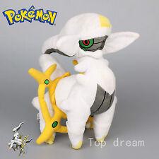 "New Pokemon Arceus Legendary Trio Plush Soft Toy Stuffed Animal Teddy Doll 11"""