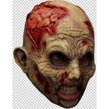 Máscara De Látex De Zombie Correa de barbilla Sofisticado Vestido Halloween para adulto