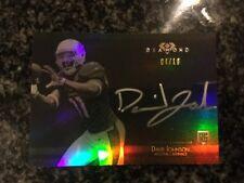 David Johnson 2015 Topps Diamond Football Rookie Silver On Card Auto 4/10 PHX