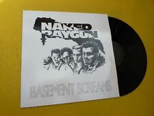 LP Naked Raygun – Basement Screams 1991 (M-/EX+)  Not On Label Vinyl ç