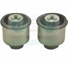 FOR VW GOLF MK4 POLO BORA NEW BEETLE 2 REAR SUSPENSION AXLE ARM MOUNTING BUSHES