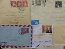 Lot de 12 lettres choisies + AEROGRAMME du JAPON (Texte haute couture années 60)