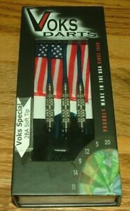 Voks Special #868 Soft Tip Darts 19 Grams 90% Tungsten Barrels 2BA