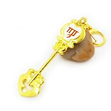 Anime Fairy Tail Lucy Star Spirit Key Virgo Keychain Cosplay Pendant Gift