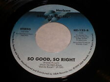 Brenda Russell: So Good, So Right / You're Free 45