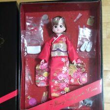 LICCA Doll Kimono Japan Traditional outfit Takara Tomy Shareholder 2016 New
