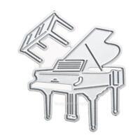 Piano Metal Cutting Dies Stencil DIY Scrapbooking Album Paper Card Craft Decor