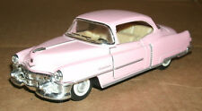1/43 Scale 1953 Cadillac Series 62 Coupe Diecast Model - Kinsmart KT5339 Pink