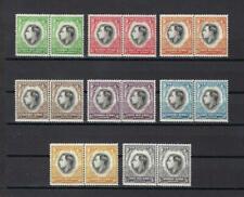 South & Soud West Africa 1937 Sc# 125-32 set George VI Coronation pairs  MNH