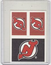 MINT! 2011-12 PANINI NO.87 NEW JERSEY DEVILS DETACHABLE STICKERS
