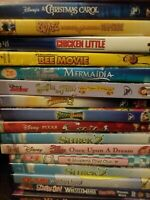 Disney DVD lot YOU CHOOSE Kids DVD movies family funny drama action huge dvd lot