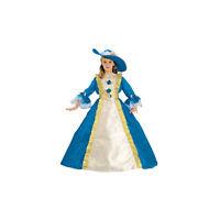 Dress Up America Kids Girls Blue Princess Fancy Dress Costume Outfit