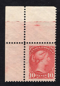 1889-97 Canada. UNI/SC#45. SG#111. Mint, Never Hinged, FVF Marginal. Certificate