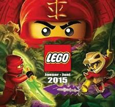LEGO 2015 Catalogue. FHY Printed Material Ninjago Cover  BN