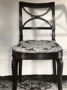 Beautiful Chair Photo- Lg.Format Created by Brooklyn Central Museum, WPA Project