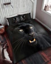 BLACK PANTHER 3D DUVET QUILT COVER BEDDING SET& PILLOWCASES