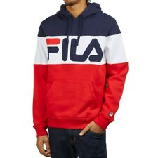 Fila Men's Flamino Fleece Hoodie Casual Pullover Size 1XL