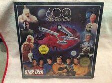 STAR TREK 600 PIECE PUZZLE SIZE 45 CM X 45 CM 1993 BY FX SCHMID