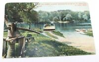 Minnesota River Fort Snelling St Paul Postcard 1909 Rare Posted Card Collectible