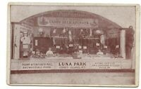 Postcard Bauer Sisters Candy  Luna Park Coney Island NY Office Philadelphia PA