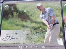 Ben Crane & Hunter Mahan, 2005 SP Golf Signature Shots AUTO 8x10 set of 2
