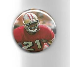 "Deion Sanders S. F. 49ers 2011 Hall of Fame 2 1/4"" Football Button"
