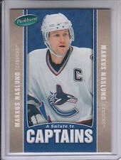 05/06 Parkhurst Markus Naslund A Salute To Captains card #524