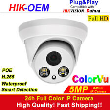 ColorVu IP Camera OEM Hikvision Compatible 5MP CCTV Full Time Color 2.8mm IPC