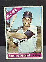 1966 TOPPS # 70 CARL YASTRZEMSKI Boston RED SOX EX HOF