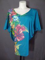 Lane Bryant flare sleeve poncho shirt top plus size 16
