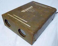 Halloween Mad Scientist Lab Decor Electrical Device Worner Model 61 Sensor Rusty