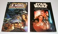 Star Wars X-Wing Rogue Squadron & Attack Of The Clones (Trade Paperbacks)