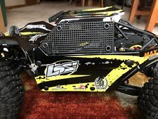 New Item....LOSI ROCK REY .. (2) WINDOW NETS BLACK ..RC Scale Rock Climber