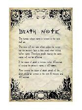POSTER DEATH NOTE ELLE YAGAMI RYUK MISA LIGHT MELLO NEAR REM MANGA ANIME #20