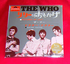 The Who Pictures Of Lily / Doctor. Doctor 7 Inch SHM MINI LP CD JAPAN UICY-78499