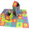 36pc ALPHABET PLAY MAT KIDS INTERLOCKING BABY SOFT EVA FOAM JIGSAW PUZZLE FLOOR*