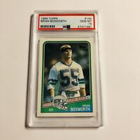 Brian Bosworth 1988 Topps PSA 10 Rookie Card RC #144