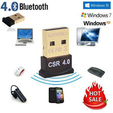 Bluetooth 4.0 USB 2.0 CSR 4.0 Dongle Adapter for WIN XP VISTA 7 8 10 PC  LAPTOP